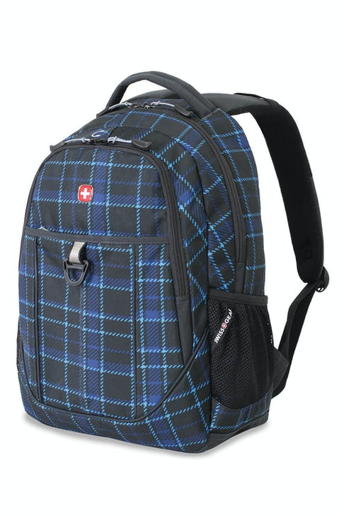 SWISSGEAR 3029 BACKPACK - BLUE PLAID