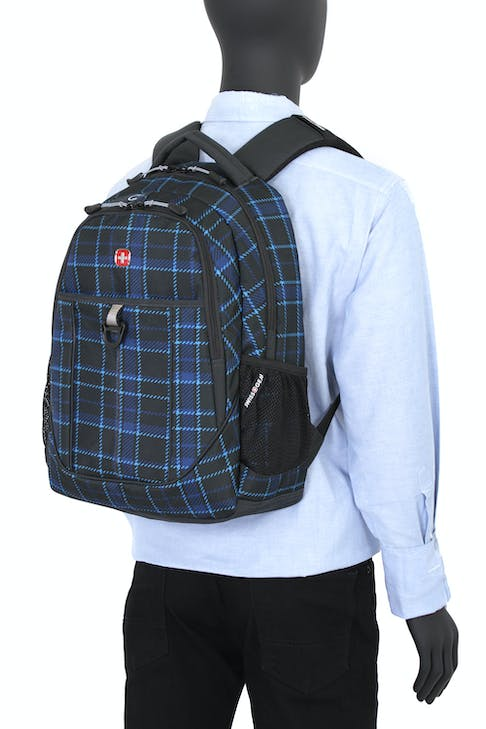 SWISSGEAR 3029 BACKPACK ERGONOMICALLY SHAPED SHOULDER STRAPS