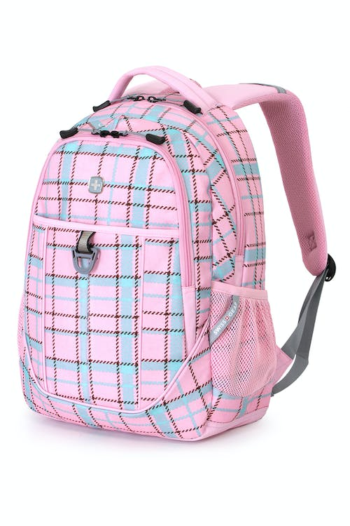 SWISSGEAR 3029 BACKPACK - PINK PLAID