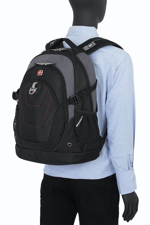SWISSGEAR 3116 DELUXE LAPTOP BACKPACK COMFORT ENGINEERED SHOULDER AND BACK PANEL SYSTEM