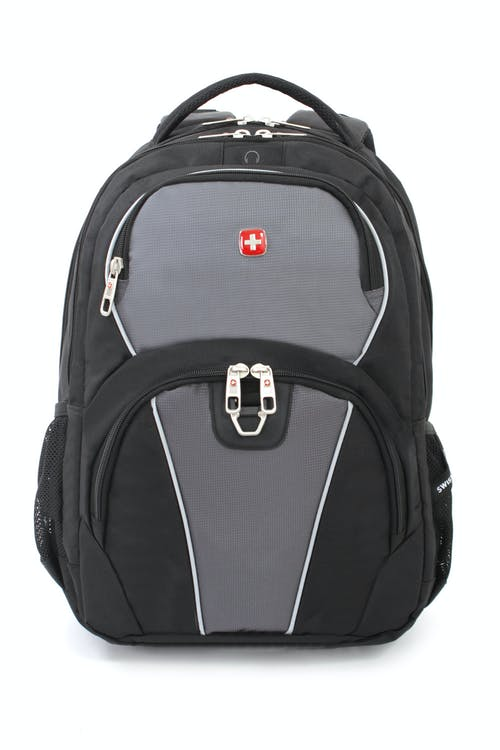 SWISSGEAR 3188 LAPTOP BACKPACK FRONT QUICK-ACCESS POCKET AND A METAL D-RING