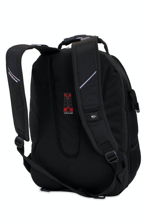 Swissgear 3239 ScanSmart Backpack - Ergonomically contoured, padded shoulder straps
