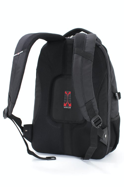 SWISSGEAR 3255 SCANSMART LAPTOP BACKPACK PADDED AIRFLOW BACK PANEL WITH MESH FABRIC