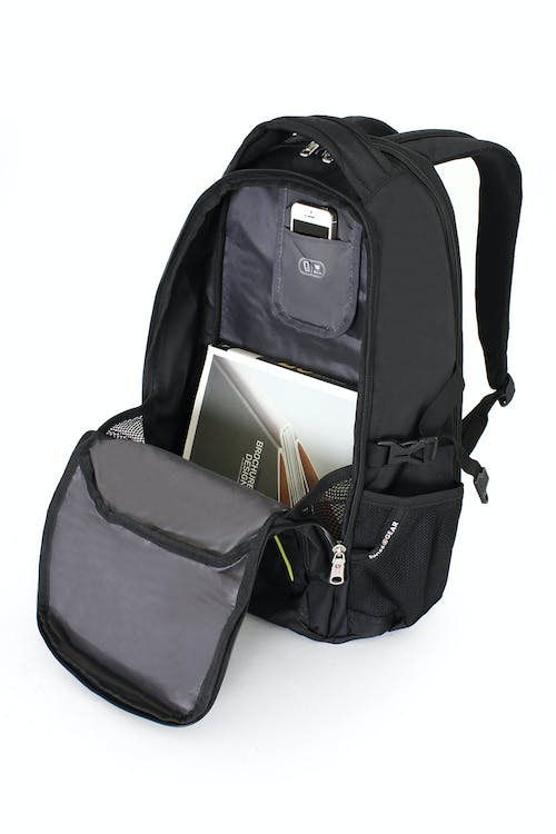 SWISSGEAR 3255 SCANSMART LAPTOP BACKPACK LARGE-CAPACITY MAIN COMPARTMENT WITH MEDIA POCKET