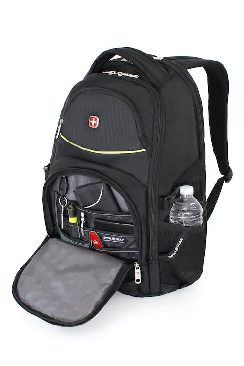 SWISSGEAR 3255 SCANSMART LAPTOP BACKPACK ORGANIZER COMPARTMENT WITH KEY FOB AND MULTIPLE DIVIDER POCKETS
