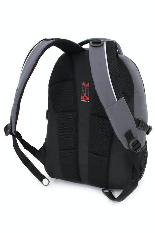 SWISSGEAR 3265 LAPTOP BACKPACK PADDED AIRFLOW BACK PANEL WITH MESH FABRIC