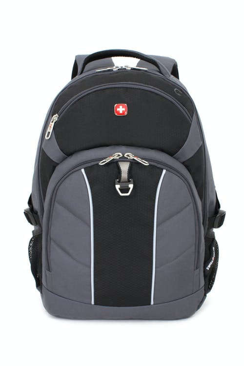SWISSGEAR 3265 LAPTOP BACKPACK EASY-ACCESS MEDIA POCKET WITH HEADPHONE CORD PORT