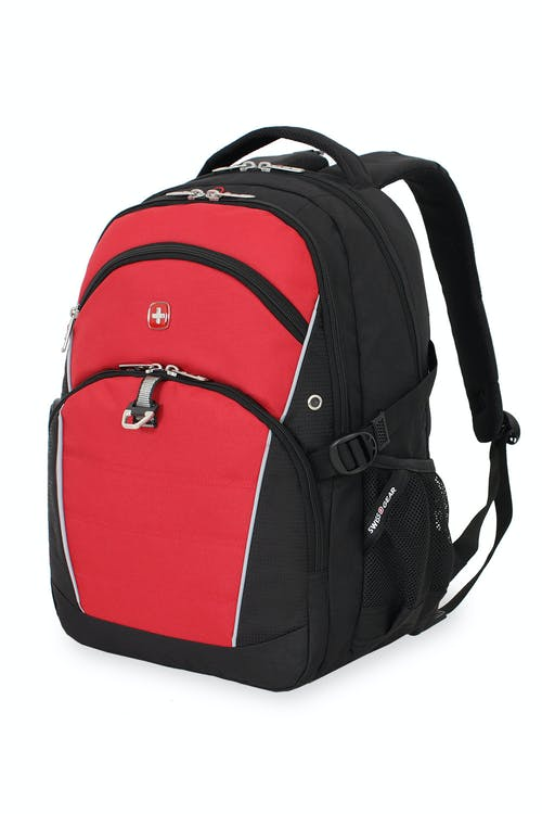 SWISSGEAR 3272 LAPTOP BACKPACK - BLACK/RED