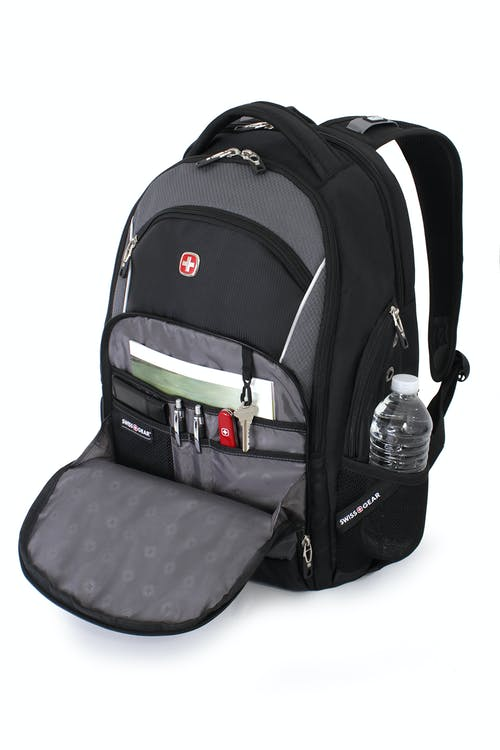 SWISSGEAR 3295-SE Special Edition Laptop Backpack ORGANIZER COMPARTMENT WITH MULTIPLE DIVIDER POCKETS