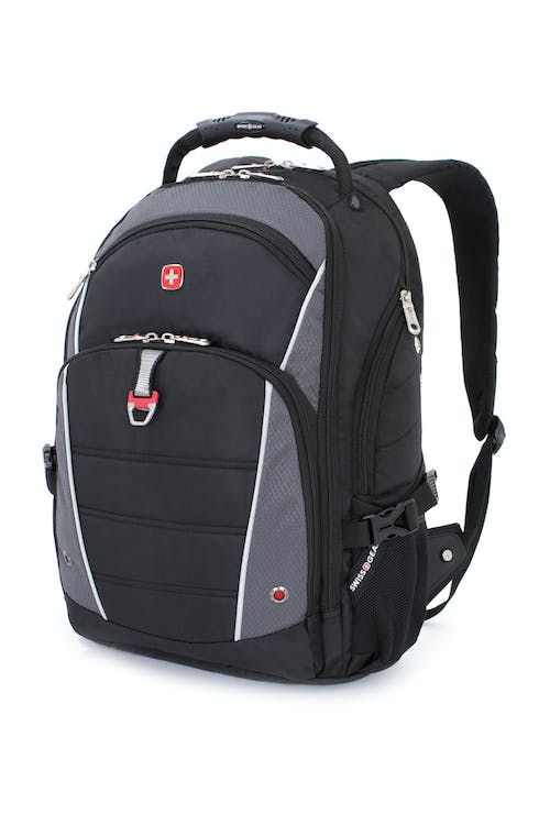 SWISSGEAR 3295 DELUXE LAPTOP BACKPACK - BLACK/GREY