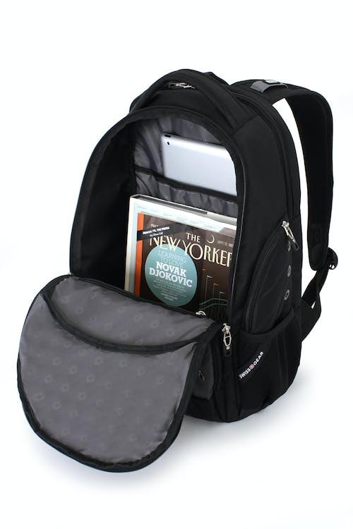 SWISSGEAR 3295-SE Special Edition Laptop Backpack LARGE-OPENING ZIPPERED COMPARTMENT