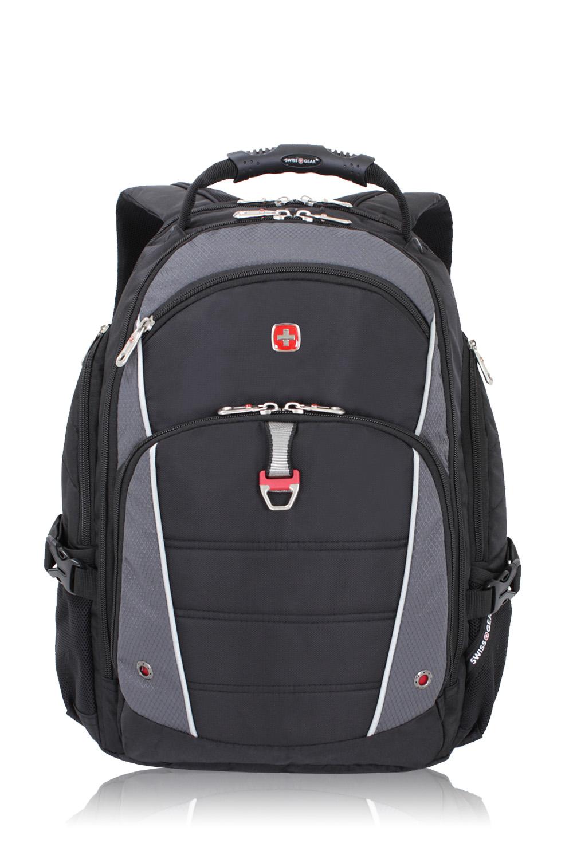 SWISSGEAR 3295 Deluxe Laptop Backpack - Black/Grey