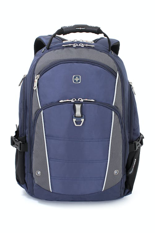 SWISSGEAR 3295 DELUXE LAPTOP BACKPACK QUICK-ACCESS, FRONT ZIPPERED POCKET