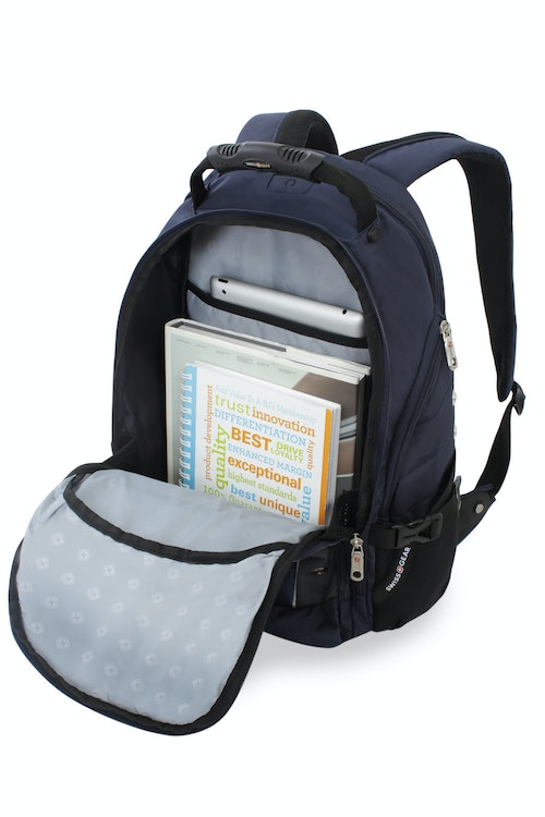 SWISSGEAR 3295 DELUXE LAPTOP BACKPACK LARGE-OPENING ZIPPERED COMPARTMENT