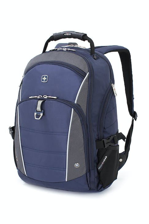 SWISSGEAR 3295 DELUXE LAPTOP BACKPACK - BLUE/GREY