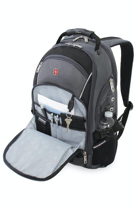 Swissgear 3295 Deluxe Laptop Backpack Gray Black
