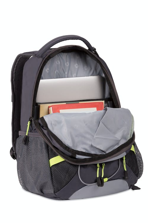 "SWISSGEAR 3517 Laptop Backpack - Large main compartment with 15"" padded laptop pocket"