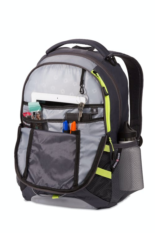 Swissgear 3517 Laptop Backpack - Front zippered compartment w/ built-in tablet pocket