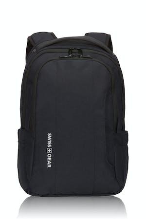 Swissgear 3573 Laptop Backpack - Black/White logo