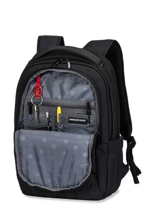 Swissgear 3573 Laptop Backpack - Internal organizer panel