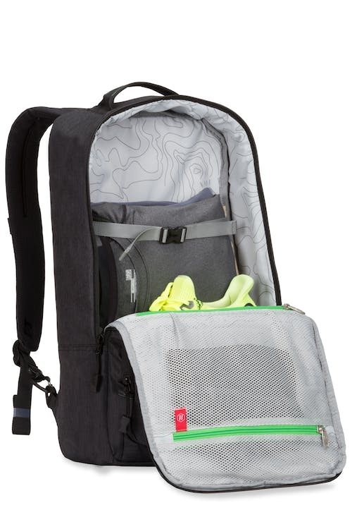 Swissgear 3575 Laptop Backpack - Large main interior with mesh pocket
