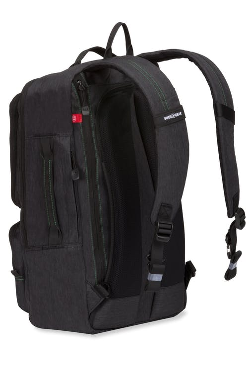 Swissgear 3575 Laptop Backpack - detachable shoulder straps that can be tucked away