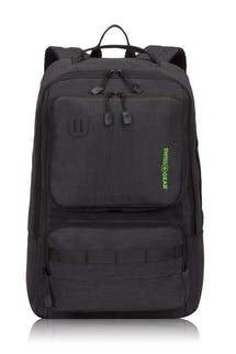 Swissgear 3575 Laptop Backpack - Black/Green Logo
