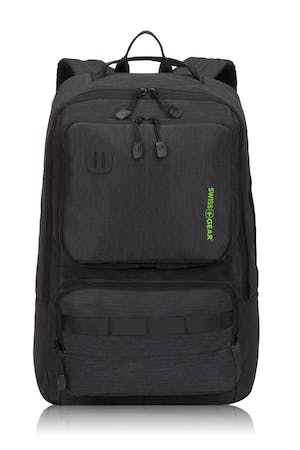 Swissgear 3575 Laptop Backpack Black Green Logo