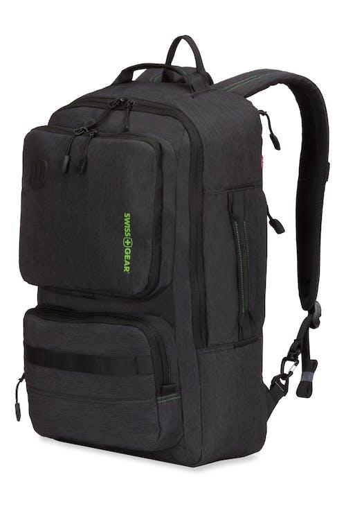 Swissgear 3575 Laptop Backpack - Black/Green Logo