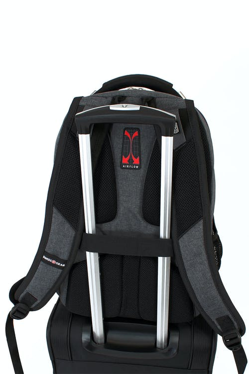 SWISSGEAR 5311 Scansmart Backpack Add-a-bag trolley strap
