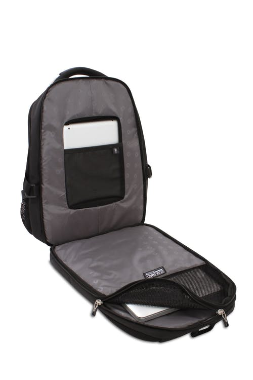 "SWISSGEAR 5312 Scansmart Backpack fully padded TSA friendly ScanSmart 15"" laptop compartment"