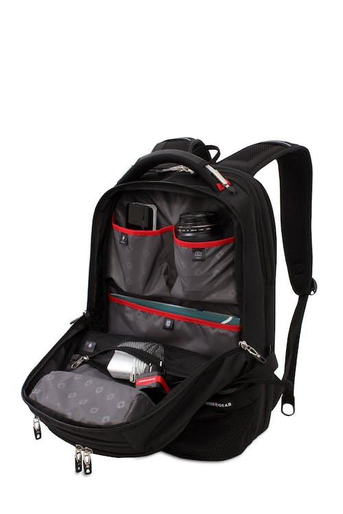SWISSGEAR 5312 Scansmart Backpack large capacity main compartment