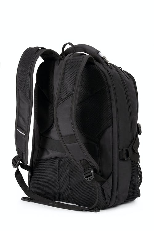 Swissgear 5312 Scansmart Laptop Backpack Ergonomically contoured, padded shoulder straps