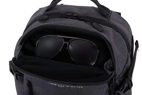 Swissgear 5337 Suitcase Backpack Top fleece lined quick access pocket