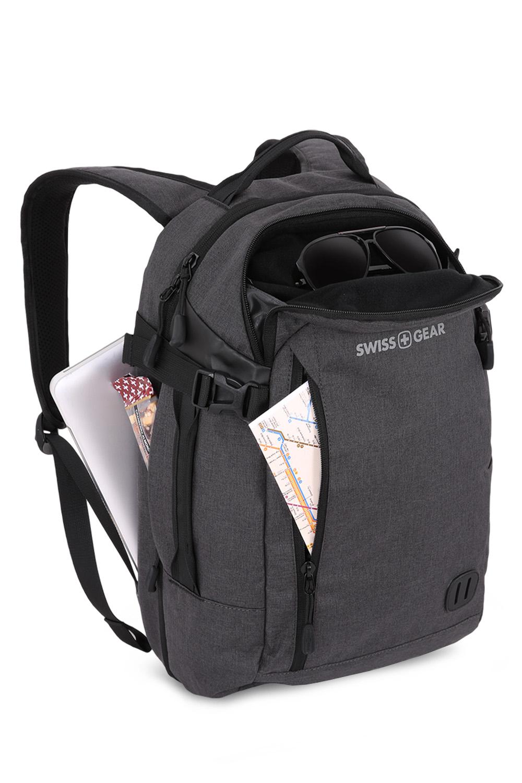 Swissgear 5337 Suitcase Backpack - Heather Grey
