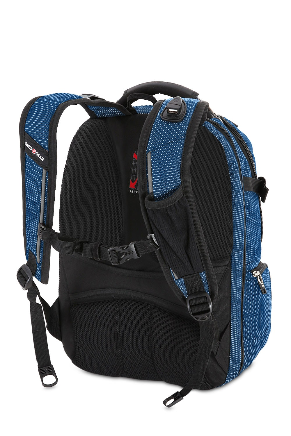 SWISSGEAR 5358 USB Scansmart Backpack Ergonomically Contoured, Padded  Shoulder Straps