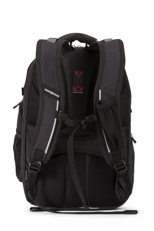 Swissgear 5358 USB ScanSmart Backpack - Special Edition - Ergonomically contoured, padded shoulder straps
