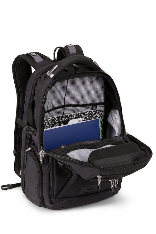 Swissgear 5358 ScanSmart Laptop Backpack - Grey Heather