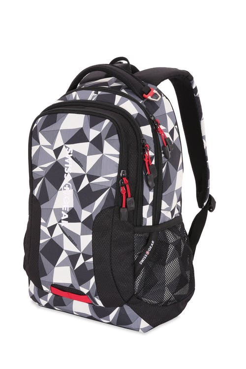 Swissgear 5503 Backpack - Diamants/Black Cod/Swiss Red