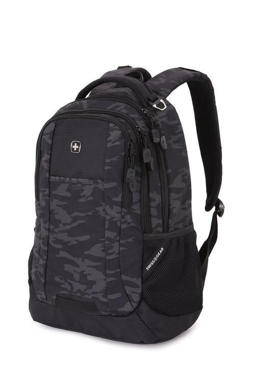 Swissgear 5505 Laptop Backpack - Black Cod/Camo