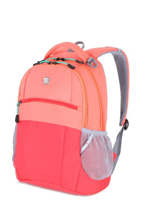 Swissgear 5522 Backpack - Unique Coral/Natural Red
