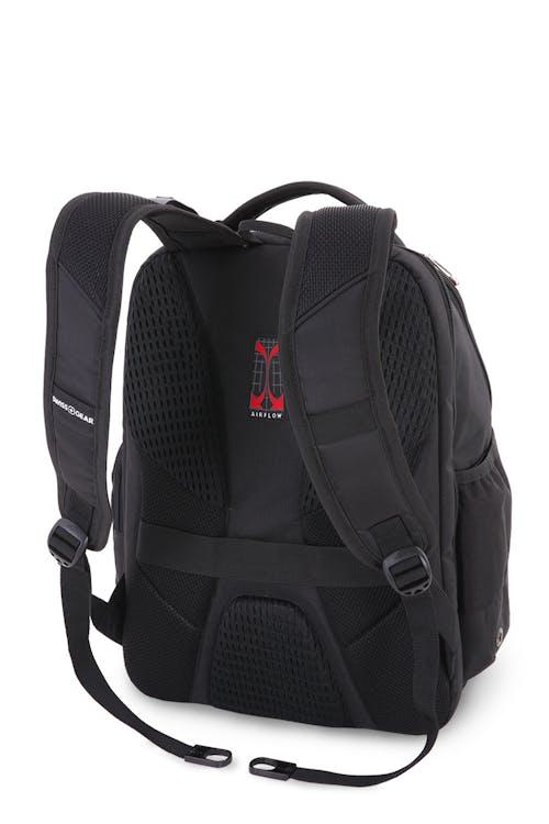 SWISSGEAR 5527 Scansmart Backpack Contoured, padded shoulder sleeves