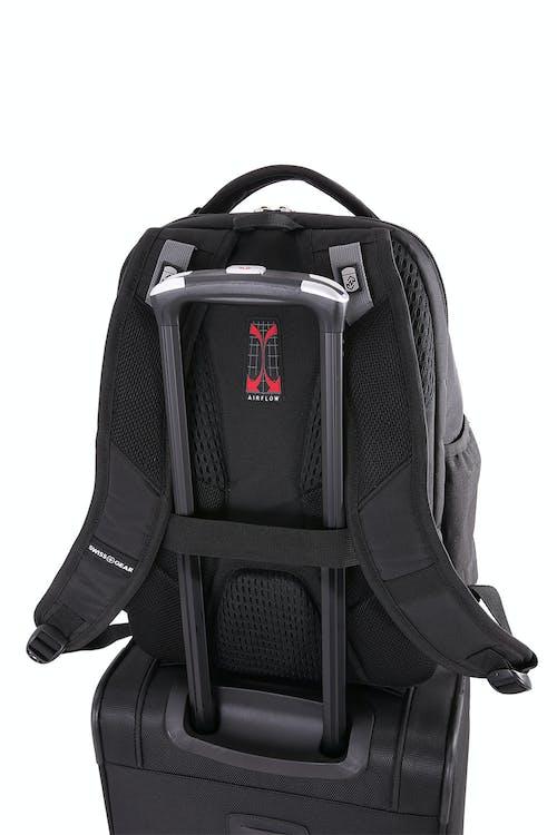 SWISSGEAR 5527 Scansmart Backpack Add-a-bag strap