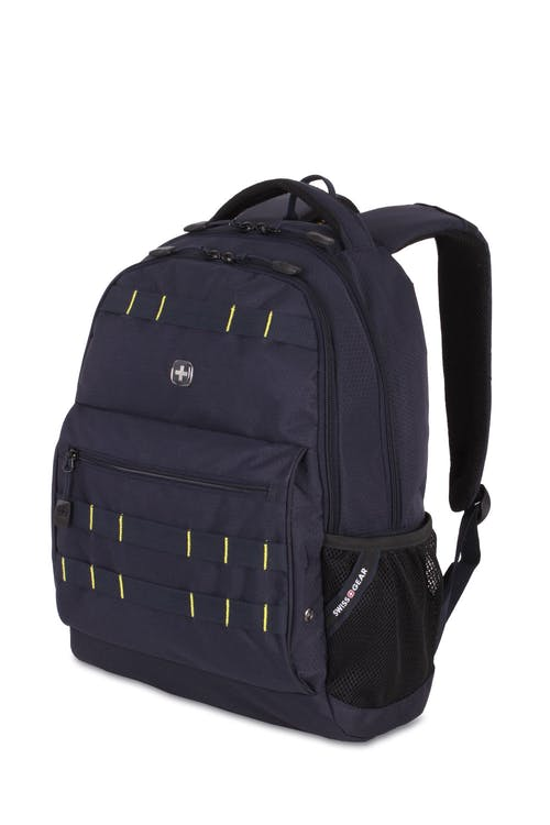 Swissgear 5530 Backpack - Noir Satin/Yellow
