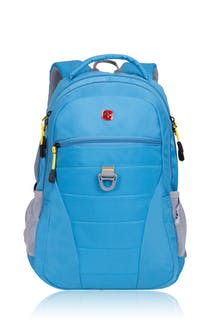 SWISSGEAR 5587 Computer Backpack - Bright Blue/Yellow Target