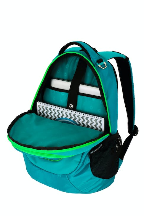 """SWISSGEAR 6601 LAPTOP BACKPACK HOLDS UP TO 15"""" LAPTOP"""