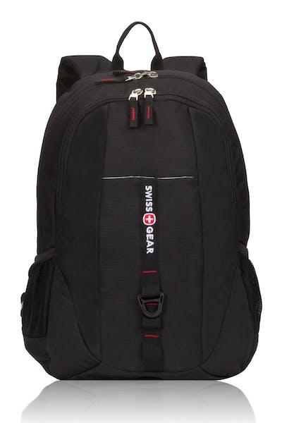 Swissgear 6639 Tablet Backpack - Black Cod/Swiss Red