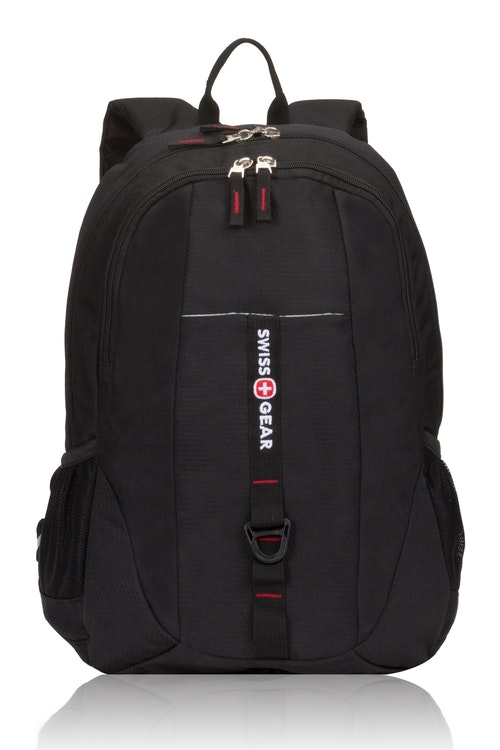 Swissgear 5629 Tablet Backpack - Black Cod/Swiss Red