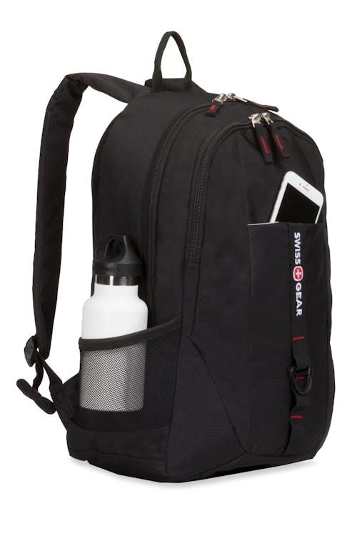 SWISSGEAR 6639 Backpack - Purple - Black - Teal
