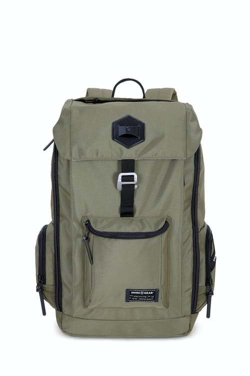Swissgear 5657 Backpack Quick-access fleece front pocket